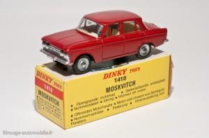 Dinky Toys 1410 - Moskwitch berline 4 portes