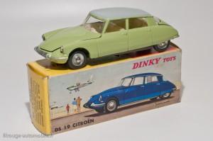 Dinky toys 530 - Citroën DS19 modèle 1963