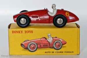 Dinky Toys 23J - Ferrari 500 F2