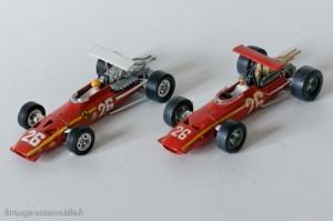 Dinky Toys 1422 & Solido 157 - Ferrari F1