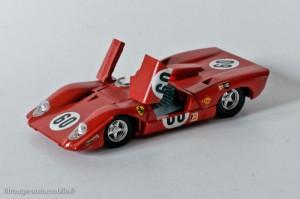 Dinky Toys 1432 - Ferrari 312P - portières ouvertes