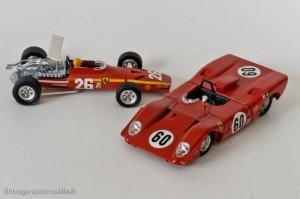 Dinky Toys 1422 &1432 - Ferrari 312 F1 & 312P