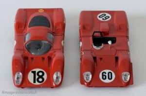Dinky Toys 1422 & Solido 177 - Ferrari 312P