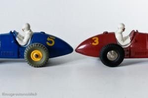 Dinky Toys 23H & 23J - Ferrari 500 F2 - deux moules différents