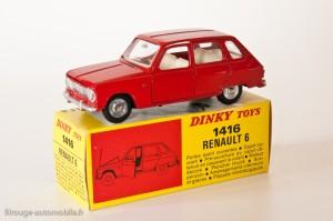 Dinky Toys 1416 - Renault 6 berline
