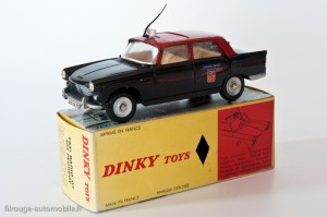 Dinky Toys 1400 - Peugeot 404 taxi G7