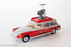 Dinky Toys 1404 - Citroën ID19 break TV Radio Télé Luxembourg