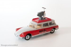 Dinky Toys 1404 - Citroën ID19 break TV RTL