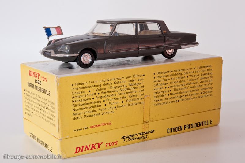 une voiture une miniature citro n ds pr sidentielle dinky toys filrouge automobile. Black Bedroom Furniture Sets. Home Design Ideas