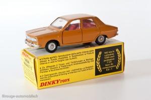 Dinky Toys réf. 1424 - Renault 12 berline - 1ère version française