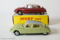 Dinky toys 530 - Citroën DS19 modèle 1963 - Les deux couleurs