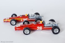 Dinky Toys 1422 - Ferrari 3L. F1 - aileron et décalques posés et non posés