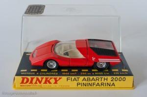 Dinky Toys 1430 - Fiat Abarth 2000 coupé