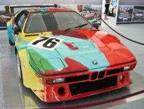 BMW M1 gr4 décorée par Andy Warhol pour les 24 Heures du Mans 1979