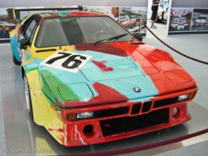 BMW M1 gr4 Le Mans 1979 - décorée par Andy Warhol