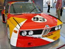 BMW 3.0CLS décorée par Alexander Calder pour les 24 Heures du Mans 1975