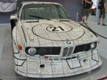 BMW 3.0CLS décorée par Franck Stella pour les 24 Heures du Mans 1976