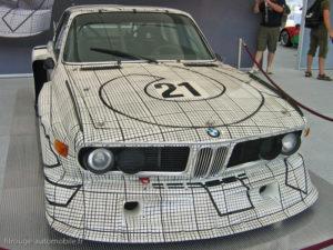 BMW 3.0CLS Le Mans 1976 - décorée par Franck Stella