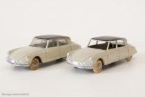 Dinky Toys 24 C et CP - Citroën DS berline - sans et avec vitres