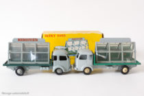 "Dinky Toys 33C - Simca Cargo miroitier ""St Gobain"" - versions normale et export"