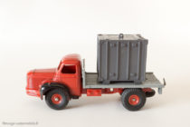 Dinky Toys 581 - Berliet porte container - Roues concaves