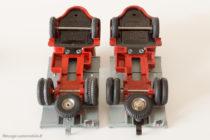 Dinky Toys 34B et 581- Berliet porte container - Roue de secours et crochets différents