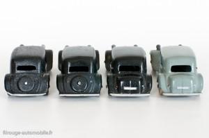 Dinky Toys 24N - Citroën Traction avant 11BL - arrières cache roue et avec malle