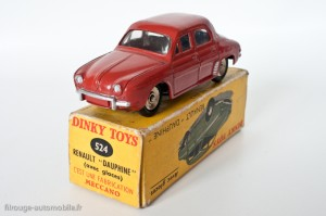 Dinky Toys 524 - Renault Dauphine - avec vitres