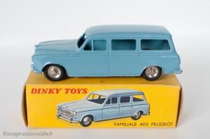 Dinky Toys 525 - Peugeot 24U familiale - avec roues concaves