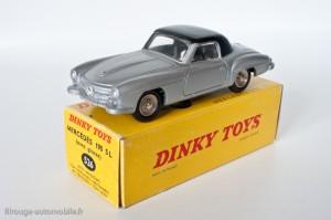 Dinky Toys 526 - Mercedes 190SL coupé - avec vitres et roues concaves