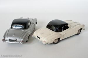 Dinky Toys 24H - Mercedes 190SL coupé - avec et sans vitres