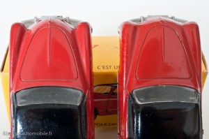 Dinky Toys 24M - Volkswagen Karmann Ghia coupé - les 2 avants