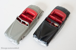 Dinky Toys 24S - Simca 8 Sport - les 2 types