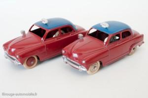 Dinky Toys 24UT - Simca Aronde taxi - nuances de bleu