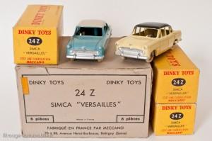 Dinky Toys 24Z - Simca Versailles - avec boite de 6
