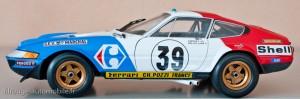 Ferrari 365 GTB/4 Daytona -  24 Heures du Mans 1972 - Kyosho