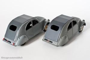 Dinky Toys 24T - Citroën 2CV - un et trois feux arrières