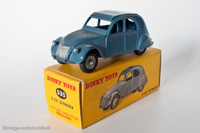 Toys Automobile Dinky Cote 24Filrouge Des Série 9DWE2beHIY