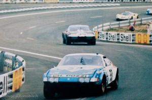 Ferrari 365 GTB/4 Daytona 24 heures du Mans 1972
