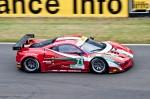 Ferrari 458 Italia - 22ème des 24 heures du Mans 2012