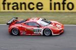 Ferrari 458 Italia n°59 - Le Mans 2012