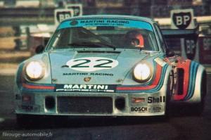 Porsche 911 Carrera RSR turbo 2,1 - 24 Heures du Mans 1974 (source: la réussite Porsche - EPA)