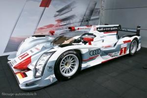 Audi R18 e-tron quattro - 24 heures du Mans 2012