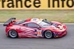 Ferrari 458 Italia - 31ème des 24 heures du Mans 2012