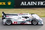 Audi R18 e-tron quattro - 2ème des 24 heures du Mans 2012