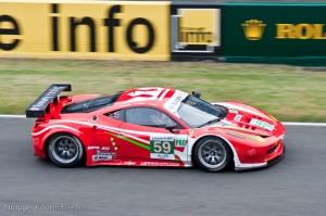 Ferrari 458 Italia - 18ème des 24 heures du Mans 2012 - 2ème LMGTE
