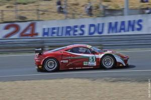 Ferrari 458 Italia - 17 ème des 24 heures du Mans 2012 - 1 ère LMGTE