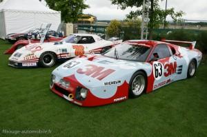 Le Mans Classic 2012 - Ferrari 512 BB et Chevrolet Corvette Stingray - Le Mans Héritage Club