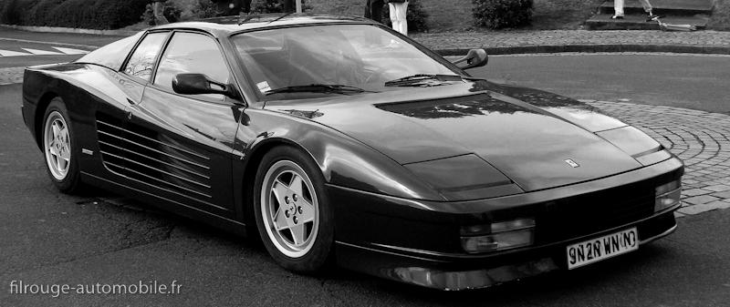 Ferrari Testarossa dessinée par Pininfarina