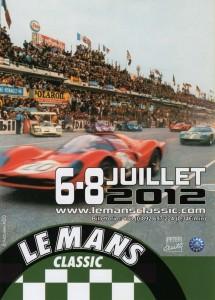 Le Mans Classic 2012 - Affiche officielle
